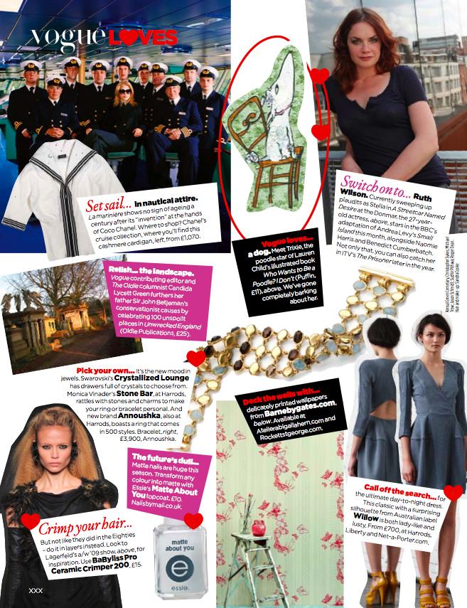 2009 Oct - VOGUE The List Oct'09