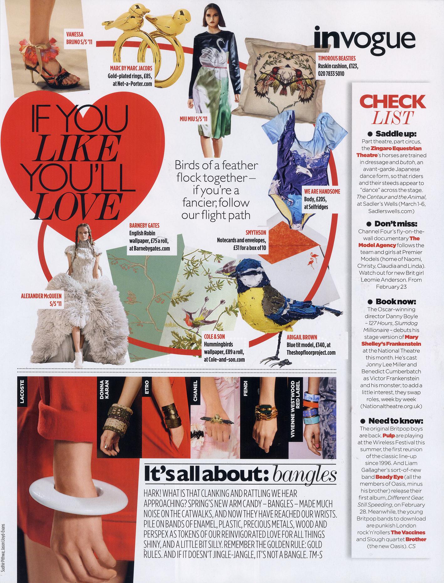 2011 March - Vogue - Article a
