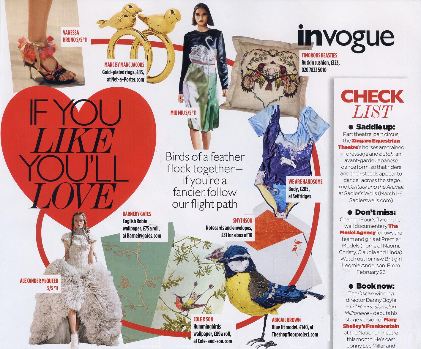 2011 March - Vogue - Article