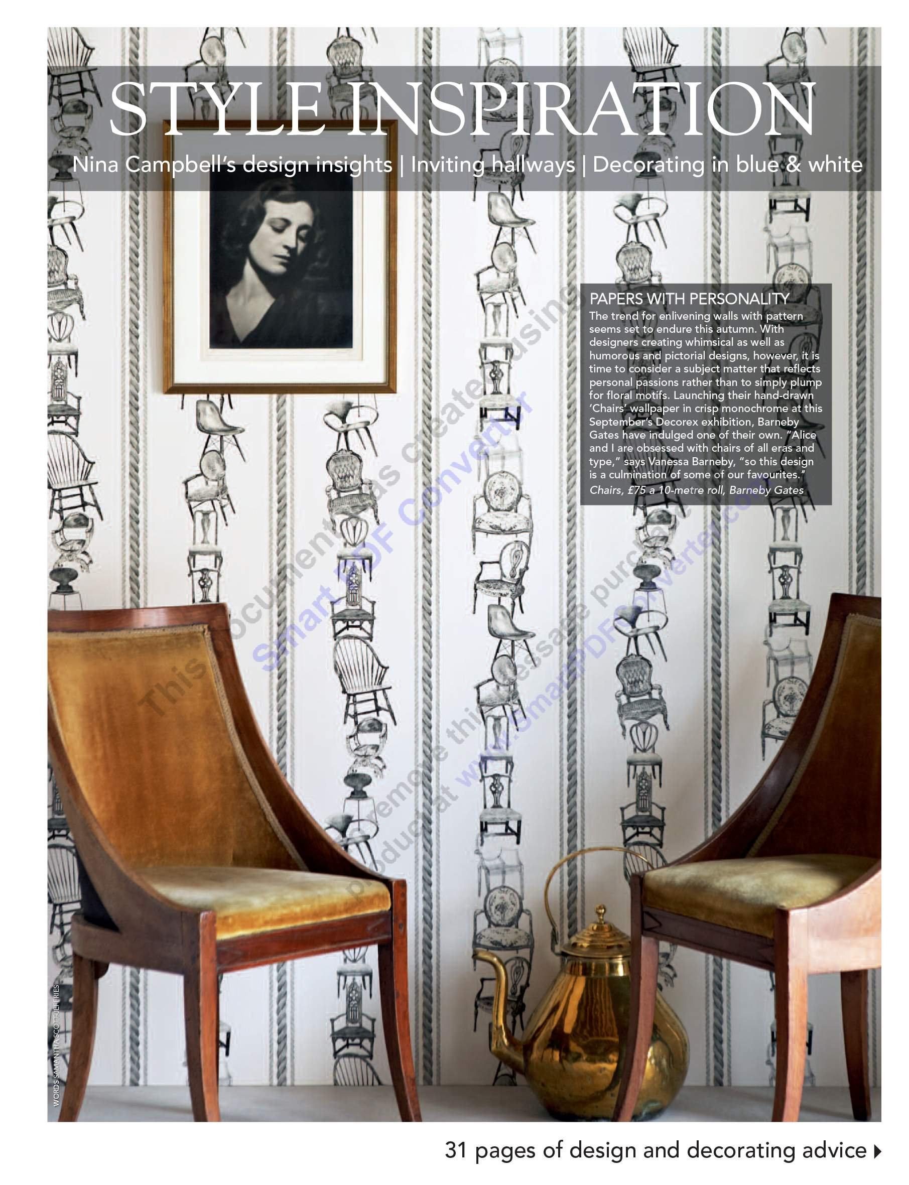 2011 Sept - English Home - article