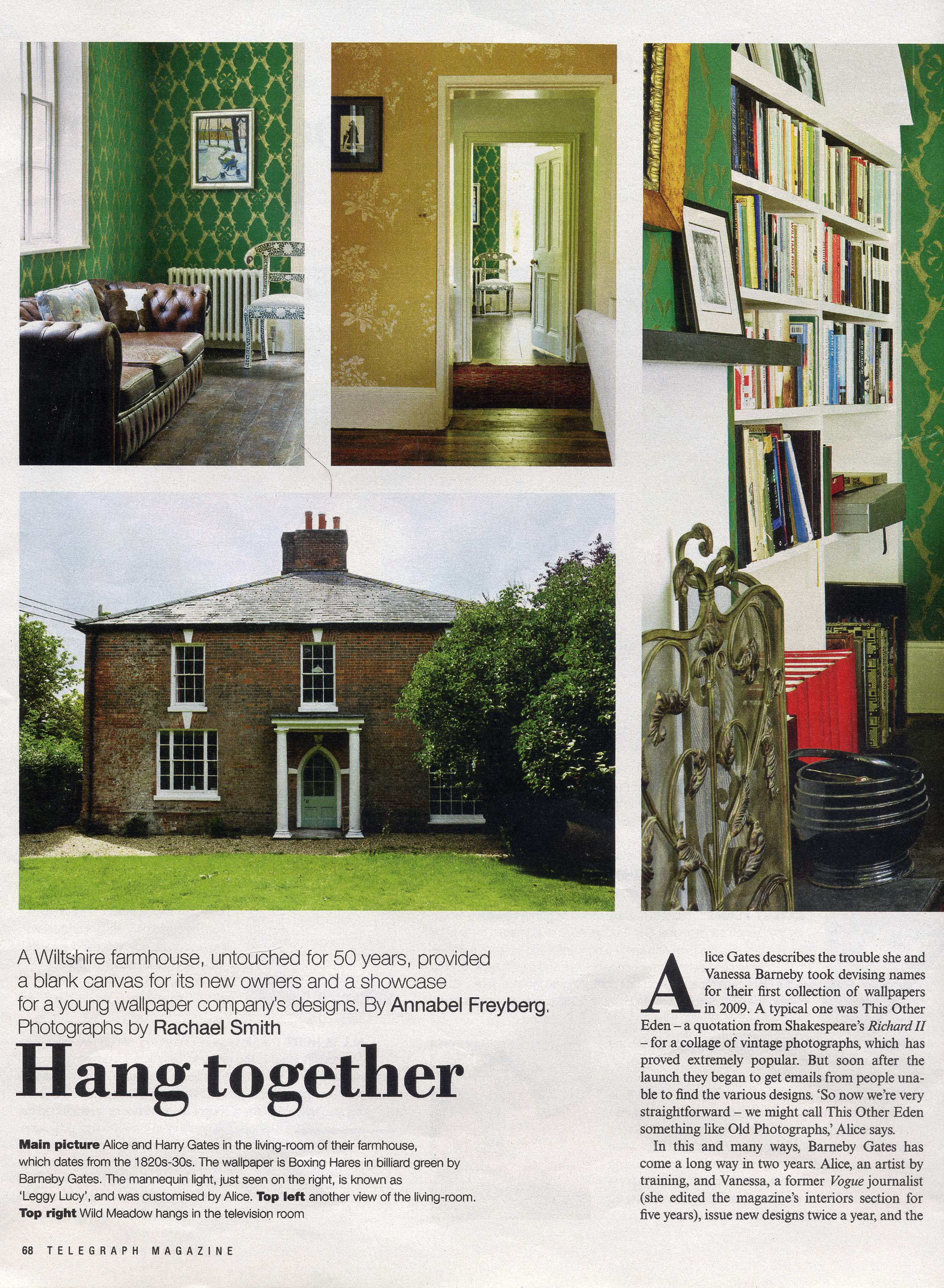 2011 Sept - Telegraph Magazine - page 2
