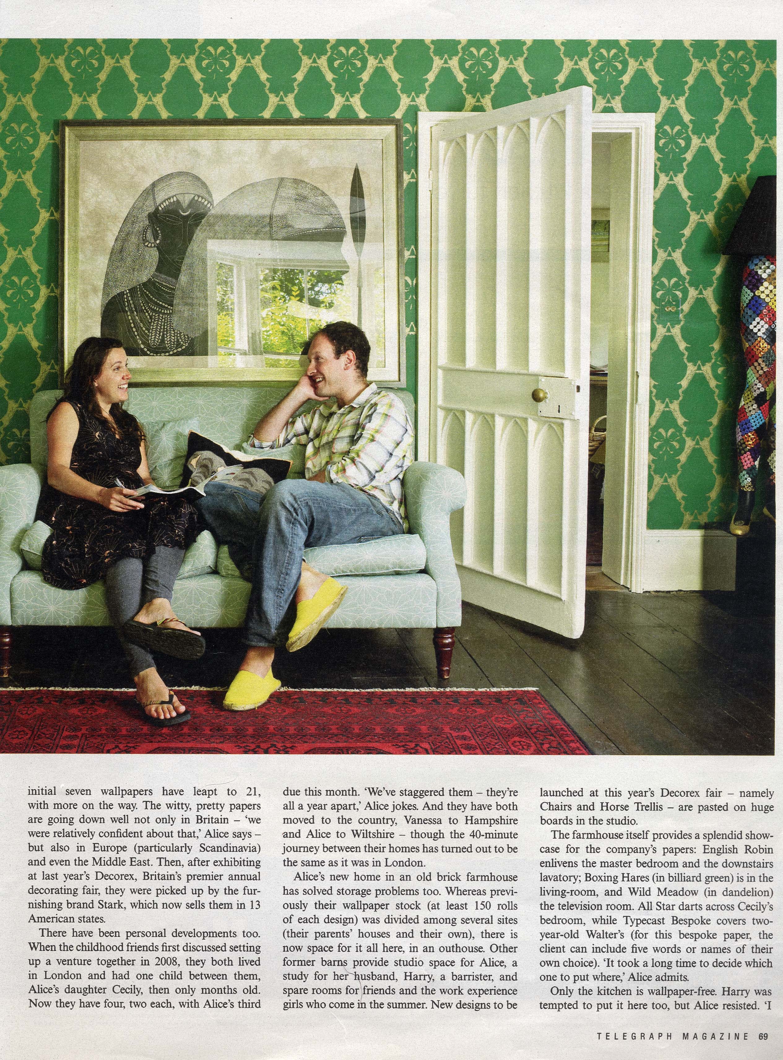 2011 Sept - Telegraph Magazine - page 3