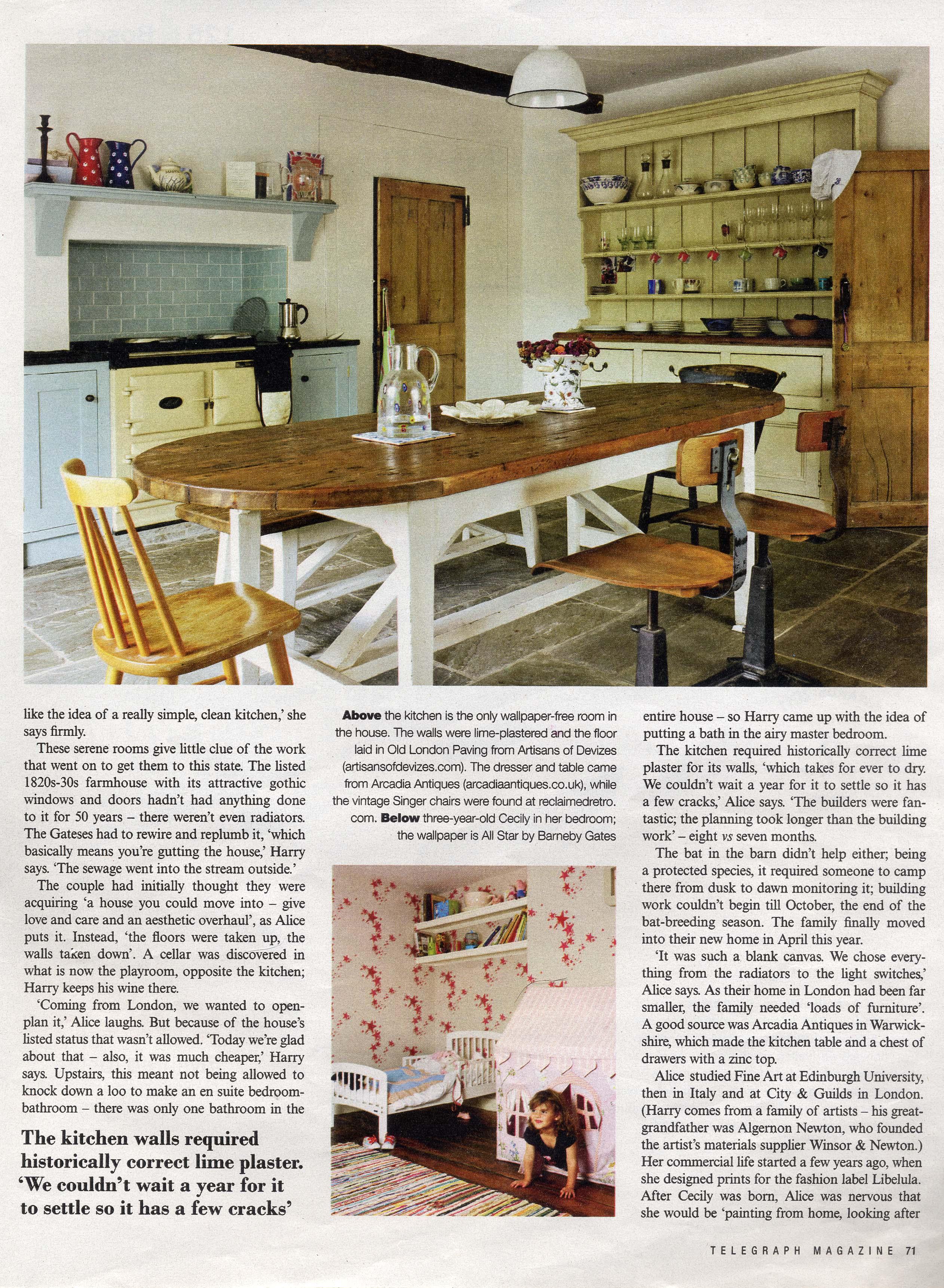 2011 Sept - Telegraph Magazine - page 4
