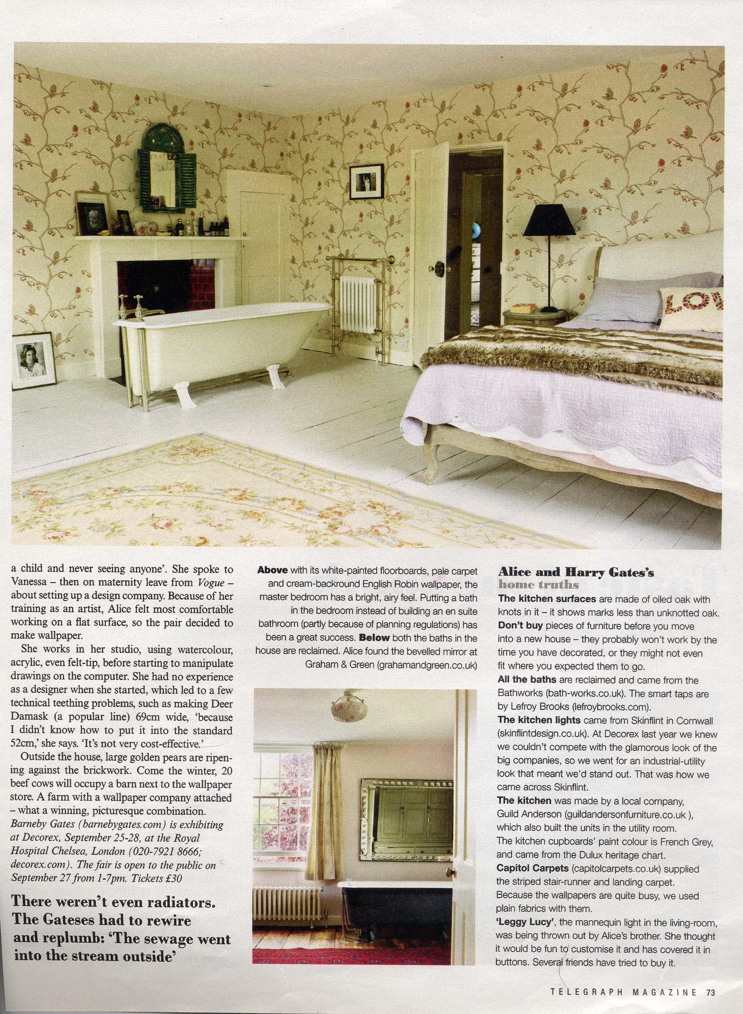 2011 Sept - Telegraph Magazine - page 5