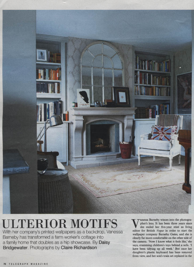 Saturday Telegraph Magazine - 22-09-12 - Article 1