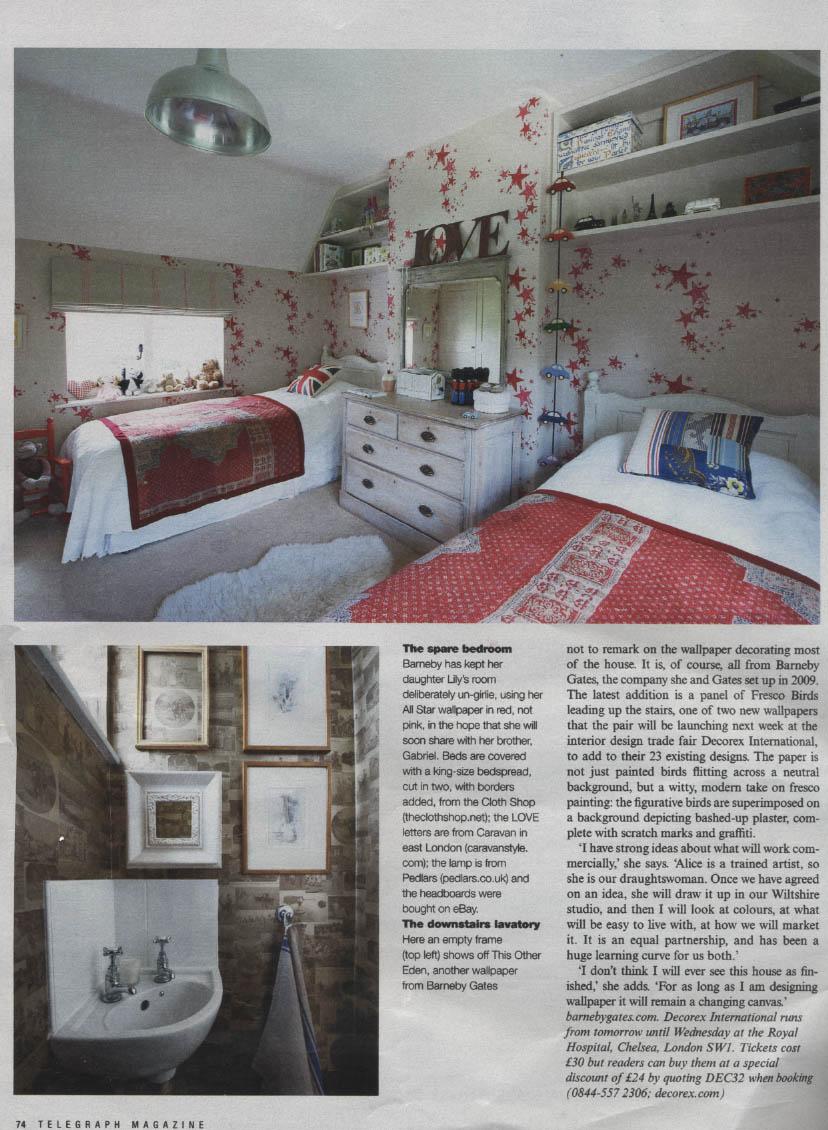 Saturday Telegraph Magazine - 22-09-12 - Article 4