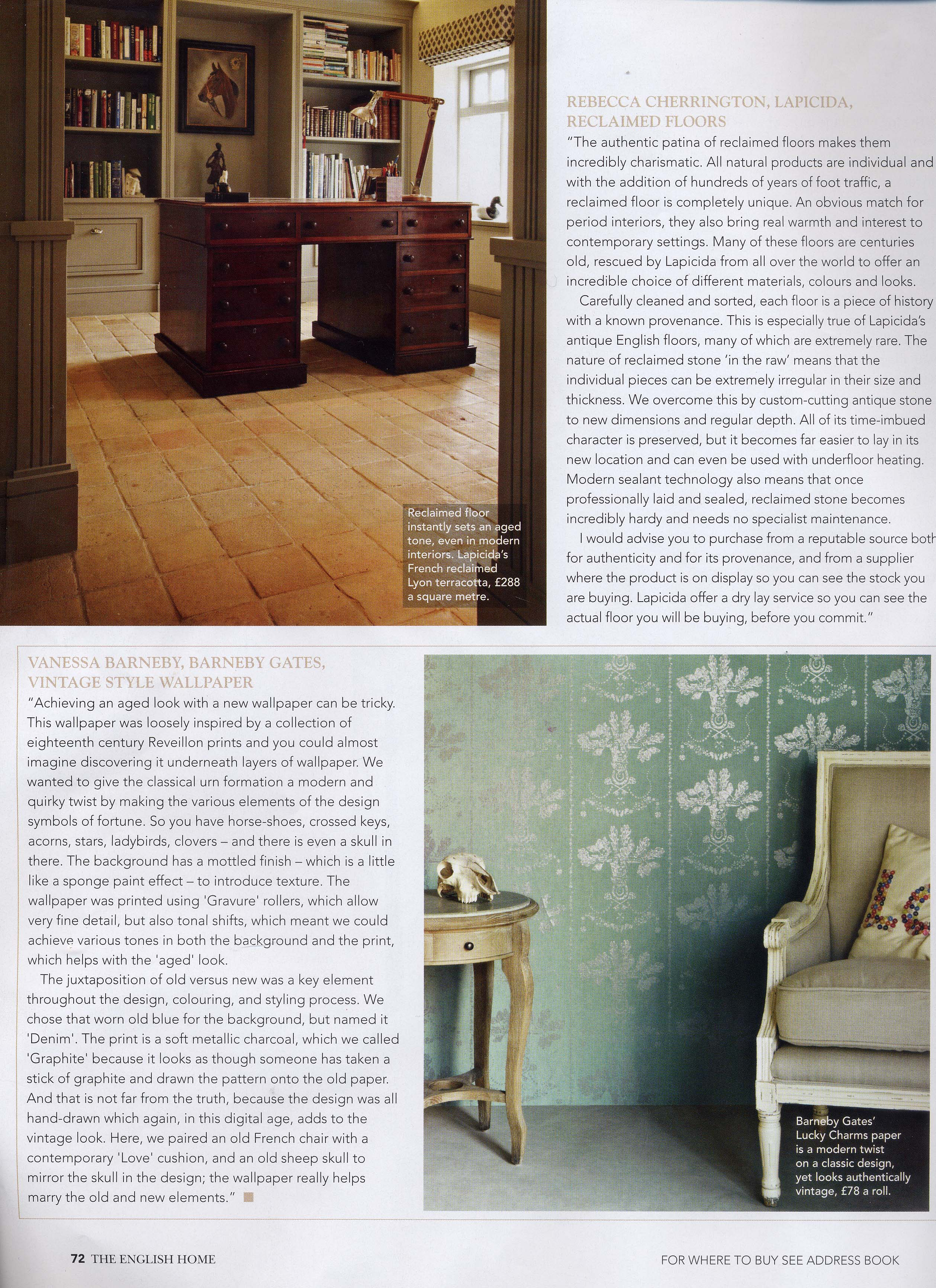 The English Home - April'12 - Article 2