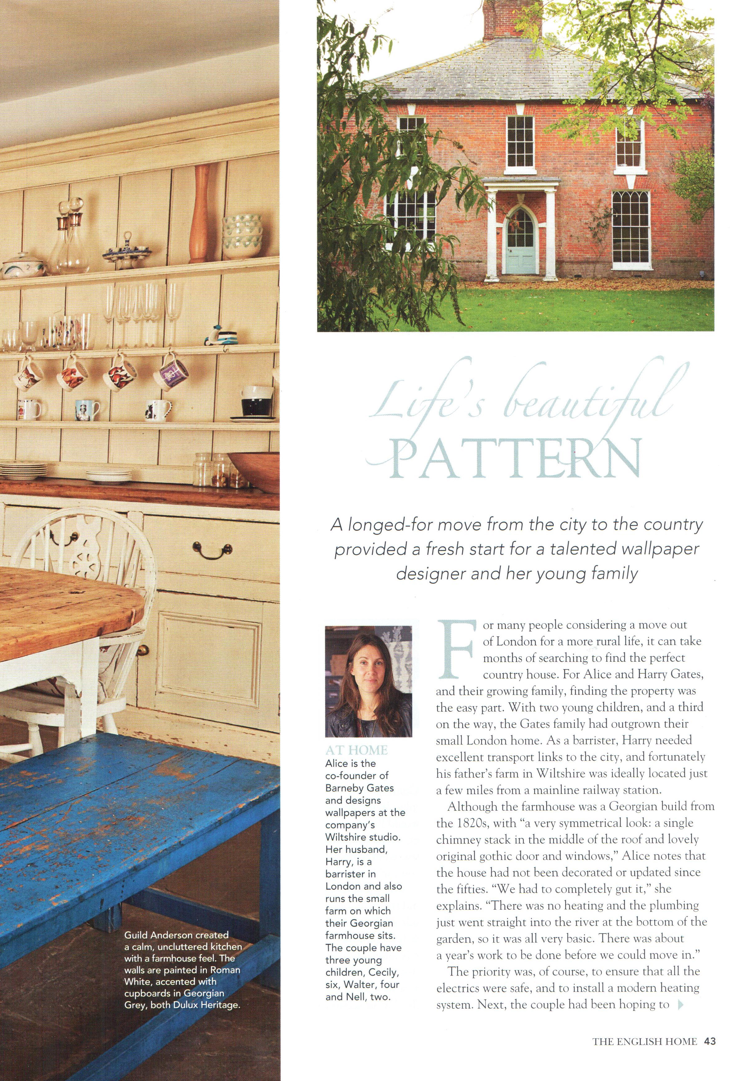 The English Home - May 2014 - Article, page 2
