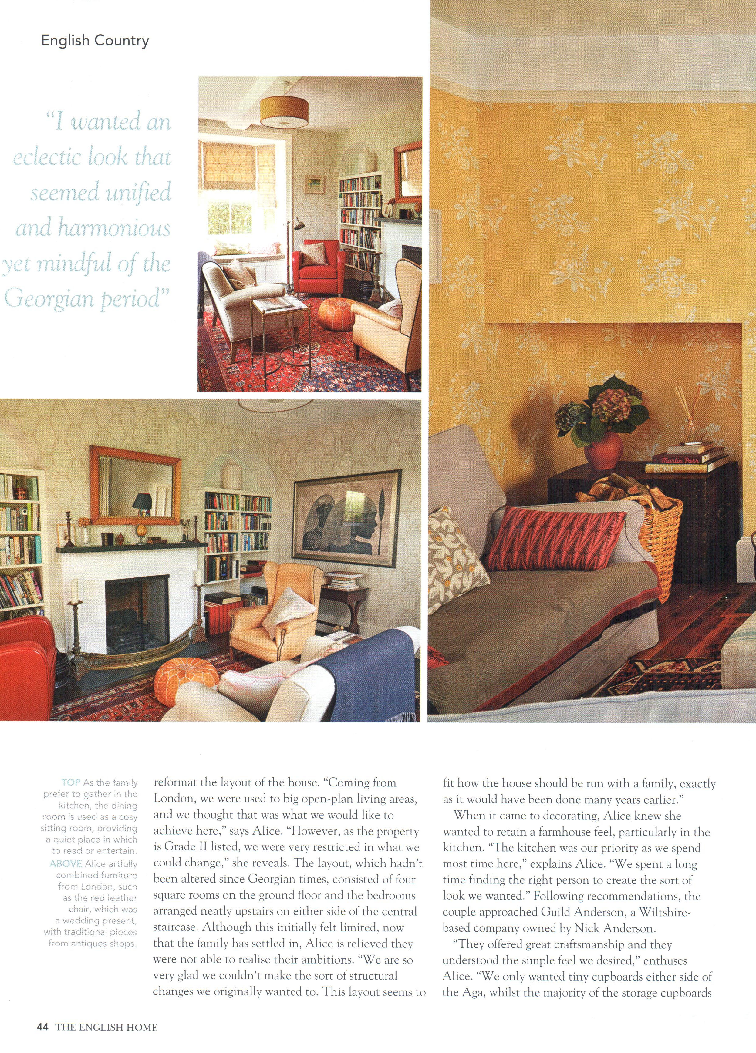 The English Home - May 2014 - Article, page 3