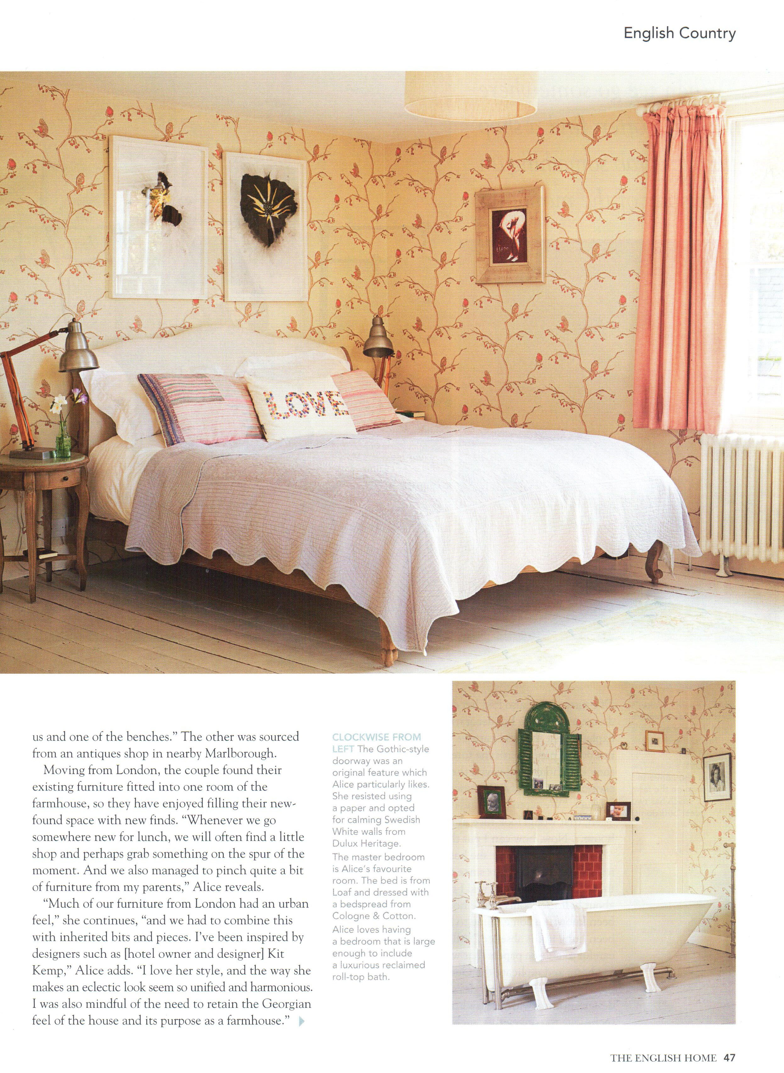 The English Home - May 2014 - Article, page 6