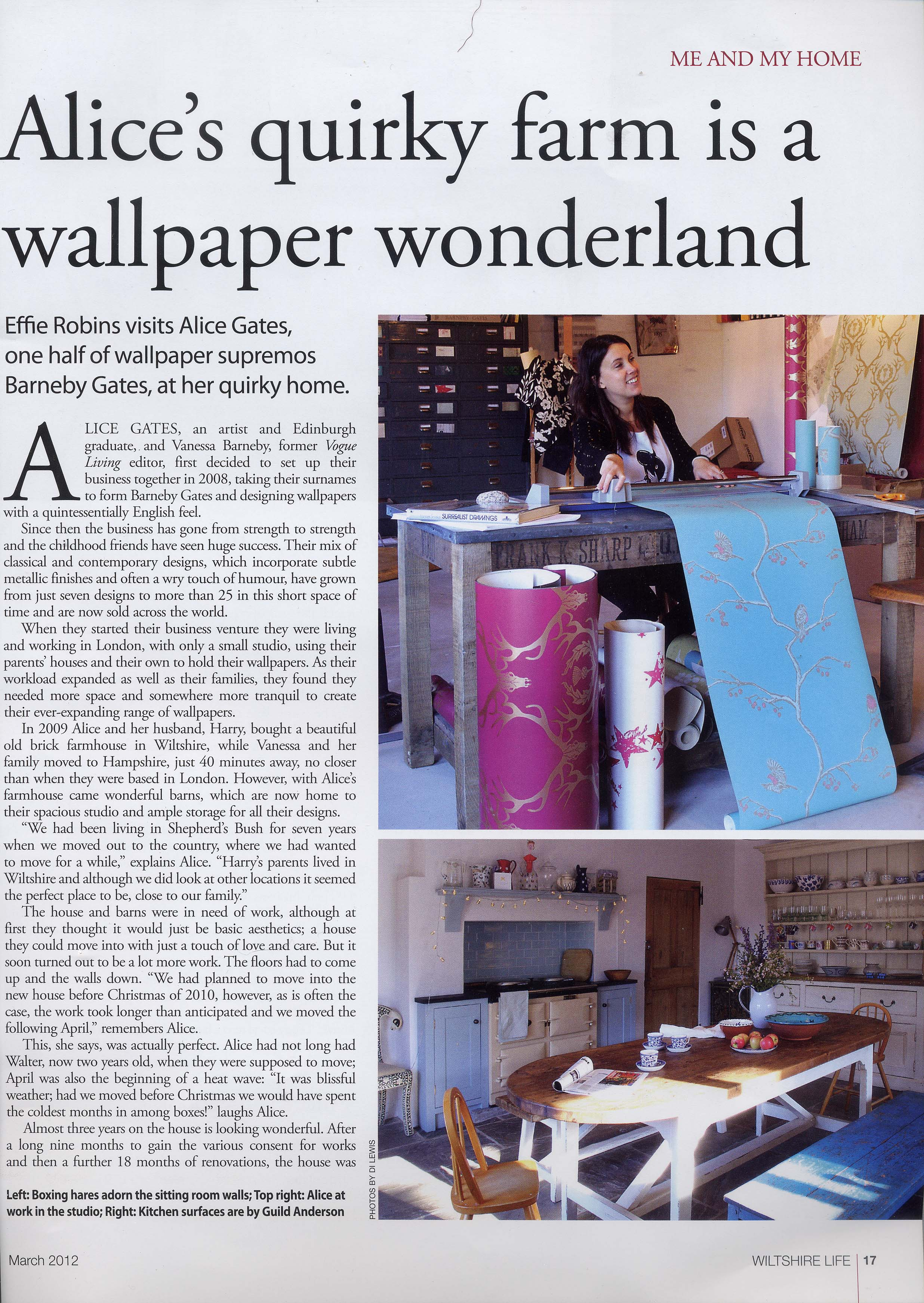 Wiltshire Life - March'12 - Article 2