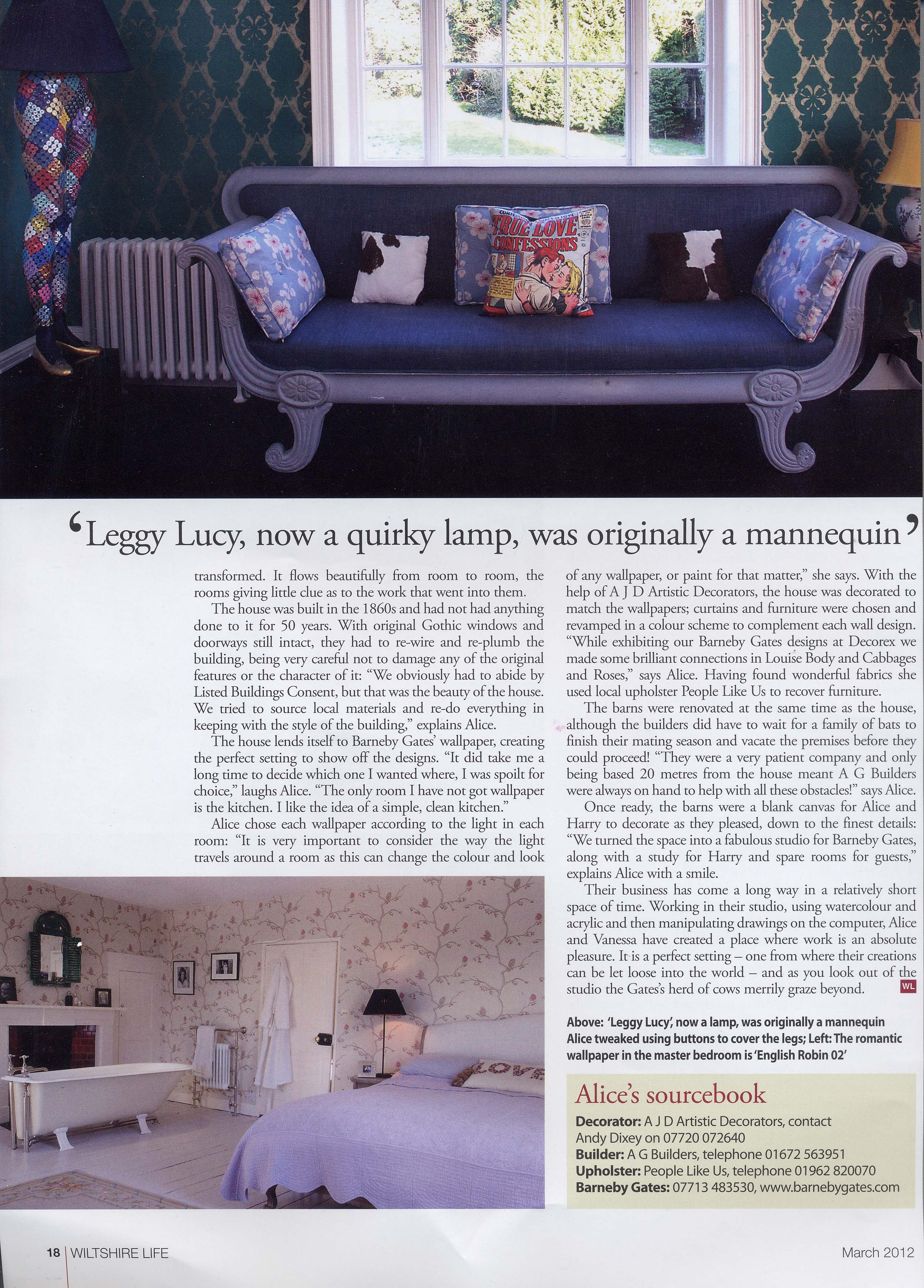 Wiltshire Life - March'12 - Article 3